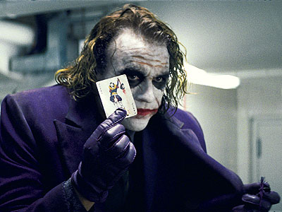 Does he special order only joker cards, or is he always buying whole packs of playing cards just for these?