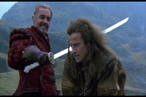 """""""Repeat after me: Every Higlander dies.  Mostly.  But not every Highlander lives.  Mostly."""""""