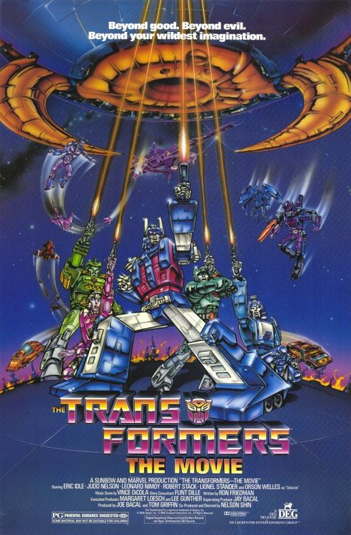 Transformers the movie retro viewing