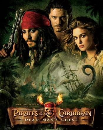 Пираты Карибского моря: Сундук мертвеца / Pirates of the Caribbean: Dead Man's Chest (Гор Вербински / Gore Verbinski) [2006 г., фэнтези, приключеня, HDRip] Dub