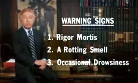 The Warning Signs Of Death