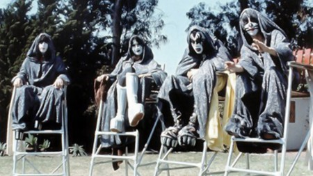 Cool KISS Fact #101: To earn extra cash, they keep an eye on the tots at the neighborhood wading pool. Rockin'!