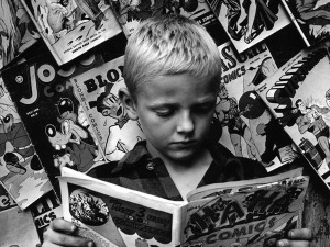 Boy-reading-Superman_Getty