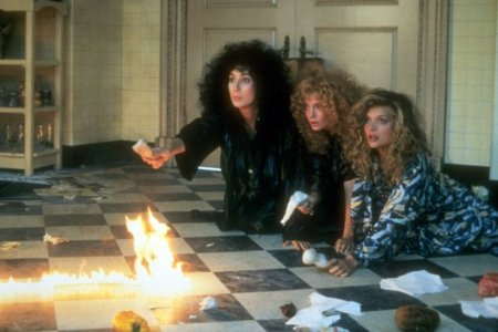 """""""Good thing we ritually set hair straightens on fire, guys."""" """"Yeah, go us"""""""