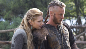 Vikings - Ragnar and Lagertha