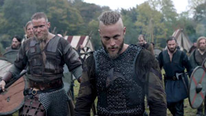 Vikings - Travis Fimmel as Ragnar