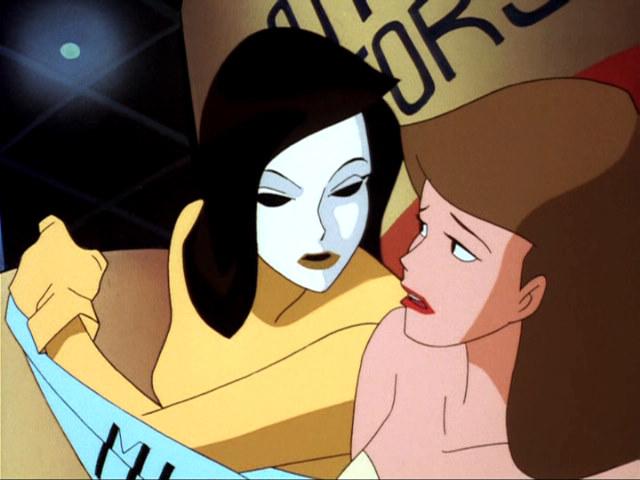 Batman animated girls naked